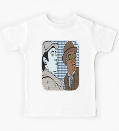 The finest duo since Holmes and Watson, Data and Geordi. BFF'S foreverrrrr Kids Tee