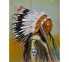 Brule-Sioux Chief Photographic Print