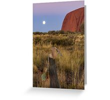 Ghostly Prescence in the Outback Greeting Card