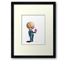 The Chatty one. Framed Print