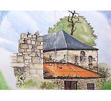 Derelict building, Skye Photographic Print