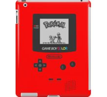 Pokemon Red on GameBoyColor by AronGilli iPad Case/Skin