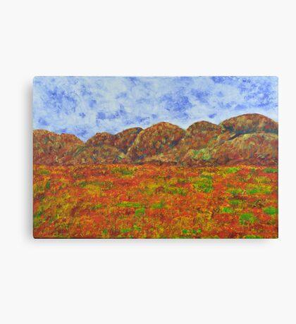 025 Landscape Canvas Print