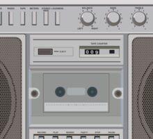 Boombox Radio Sticker