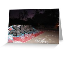 Park after Dark Greeting Card