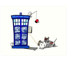 To catch a Doctor Art Print