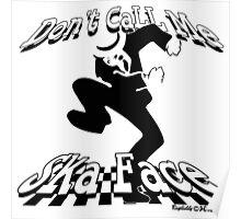 Ska Face Poster