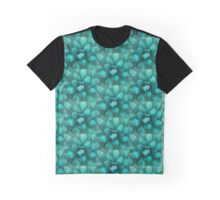 blue-green Graphic T-Shirt