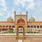 Jama Masjid - Delhi, India by TonyCrehan