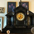 1800 Slate Clock...Gifted To Us From My Aunt Jean by Diane Arndt