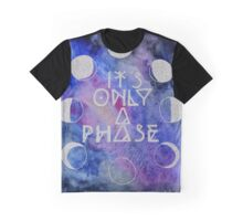 It's Only a Phase Watercolor Painting Graphic T-Shirt