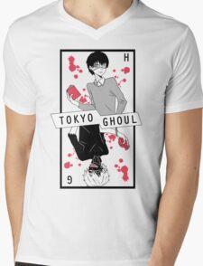 Halfblood - White  Mens V-Neck T-Shirt
