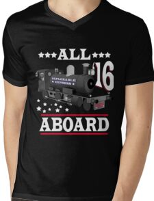Trump Train - Deplorable Express 2016 Mens V-Neck T-Shirt