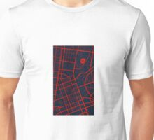 Melbourne Demons Road Map Unisex T-Shirt