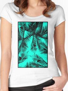 PALMS Women's Fitted Scoop T-Shirt