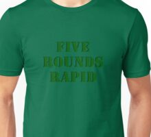 Five Rounds Rapid Unisex T-Shirt