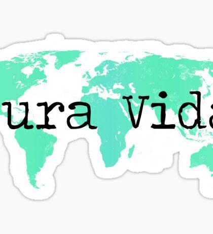 pura vida map Sticker