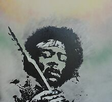 Voodoo Child by artbynewton