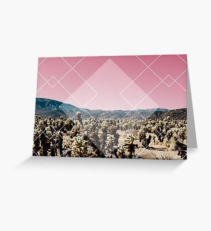 Desert Geo Greeting Card