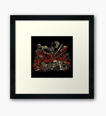 Scoobies Framed Print