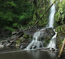 Erskine Falls VIC by BenClarkImagery