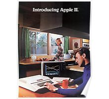 APPLE 2 CLASSIC AD  Poster