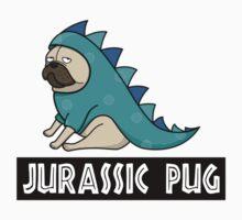 Jurassic Pug Kids Tee