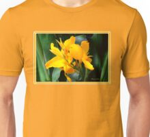 A Bright Spot by the Pond ~ Cannas Unisex T-Shirt