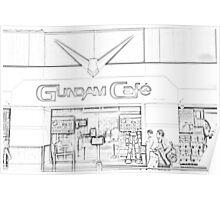 Gundam Cafe in Tokyo Poster