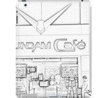 Gundam Cafe in Tokyo iPad Case/Skin