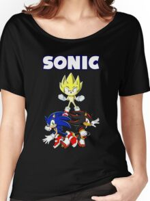 TEAM SONIC TSHIRT Women's Relaxed Fit T-Shirt