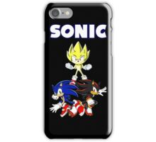 TEAM SONIC TSHIRT iPhone Case/Skin