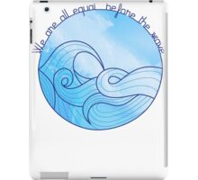we are equal iPad Case/Skin