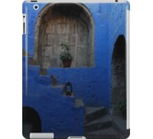 Blue Patio with Stairway iPad Case/Skin