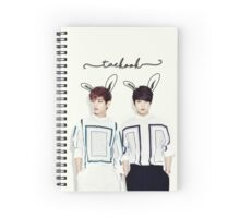 Bunny Taekook Edit Spiral Notebook
