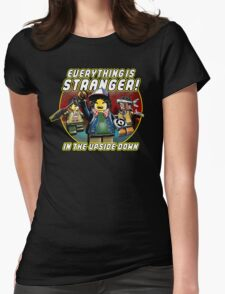 Everything Is Stranger Womens Fitted T-Shirt