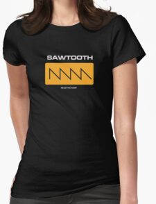 Sawtooth (Negative Ramp) Womens Fitted T-Shirt