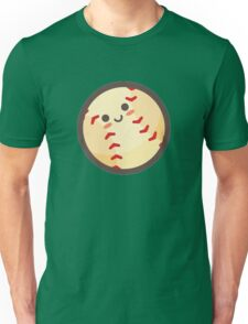 Cute Happy Baseball Face Unisex T-Shirt