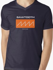Sawtooth (Positive Ramp) Mens V-Neck T-Shirt