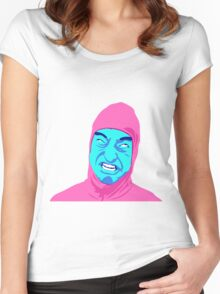 Pink Guy Women's Fitted Scoop T-Shirt
