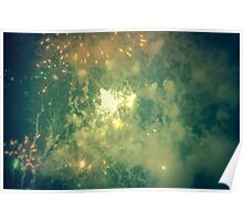 Big Bang - Fireworks from Fiestas del Apostol Poster