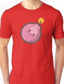 Cute Happy Pink Bomb Unisex T-Shirt