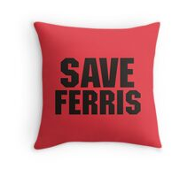 Save Ferris Throw Pillow
