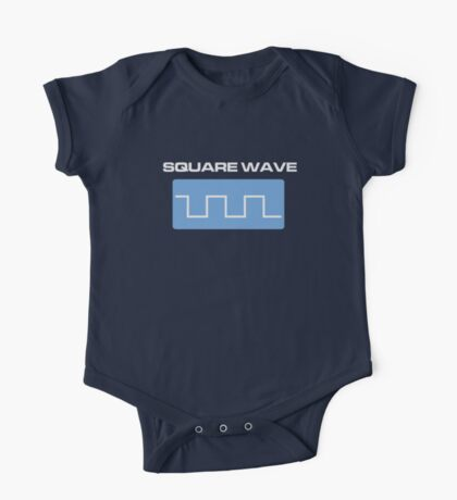 Square Wave One Piece - Short Sleeve
