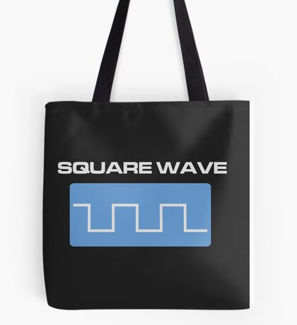 Square Wave Tote Bag