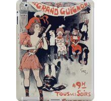 Jules Alexandre Grün Grand Guignol 1890 iPad Case/Skin