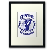 Chayne of Command Framed Print