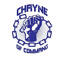 Chayne of Command Photographic Print