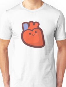 Cute Happy Heart Unisex T-Shirt