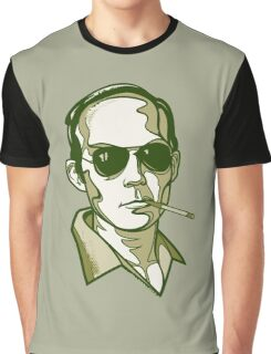 Hunter S. Thompson green Graphic T-Shirt